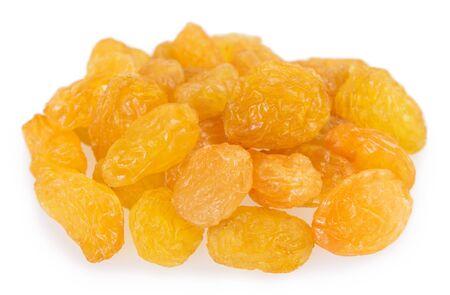 sweet raisin isolated on white background closeup Stock fotó