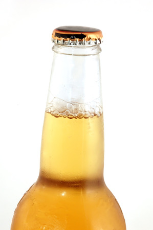 Bottle of beer isolated on white  Stock Photo - 1431537
