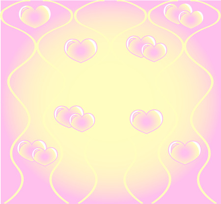 Hearts background Stock Vector - 1527022