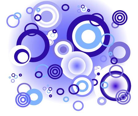 soapy: Fondo azul c�rculos