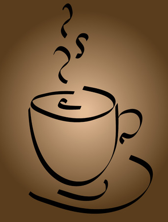 coffee cup vector: Cup