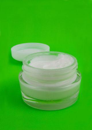 Cream for a body Stock Photo - 2590304