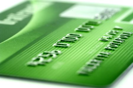 Credit card-financial background Stock Photo - 2744470