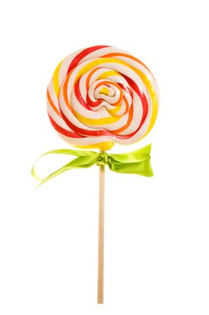 Lovely Lollipop Isolated on white