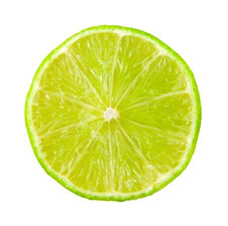 Lime citrus slice