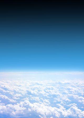 aerial: aereo vista Archivio Fotografico