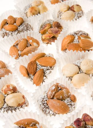Variety of sweets.urkish Delight - the famous sweet food Stock Photo - 4743751