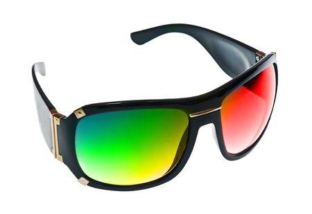isoalated: Fashion sunglass isoalated on white Stock Photo