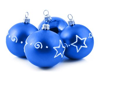 Blue balls and copy-space Stock Photo - 5629015