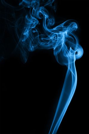 notional: blue Smoke on black