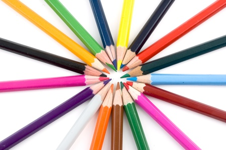 Color pencils Stock Photo - 8831033