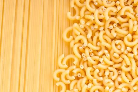 diferentes tipos de pasta italiana. Foto de archivo - 9044539