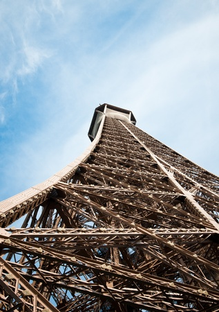 The Eiffel Tower in Paris, France.  photo