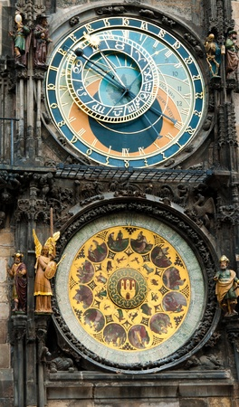 Astronomical Clock Prague Czech Republic Reklamní fotografie