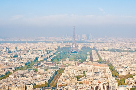 Paris aerial view from Montparnasse tower Stock Photo - 11177262