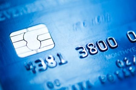personalausweis: Kreditkarte, Makro Lizenzfreie Bilder