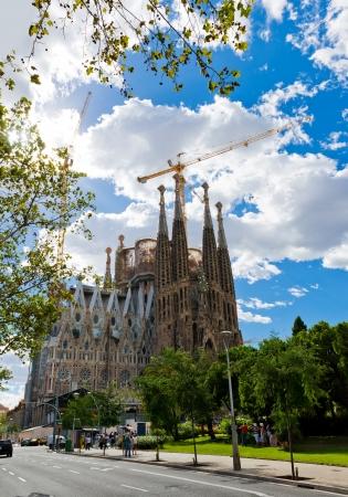 Sagrada Familia Temple in Barcelona Stock Photo - 16348715