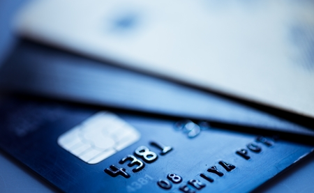 Credit cards  Stock Photo