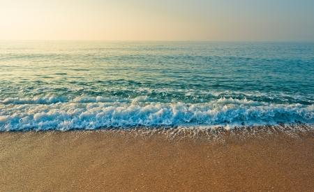 sunset beach: Tranquil Beach Sunrise