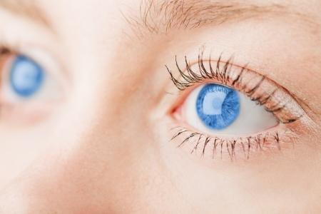 bellissimi occhi azzurri Archivio Fotografico