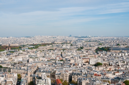 Paris. Capital Skyline Stock Photo - 17354953