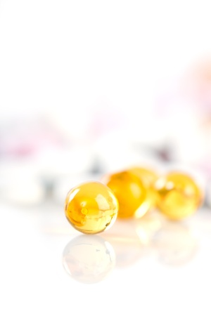 Colorful tablets with capsules Stock Photo - 18670046
