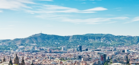 Cityscape of Barcelona. Spain. photo