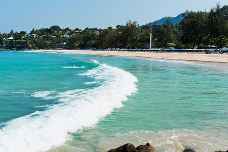 Beautiful beach in Phuket. Thailand  photo