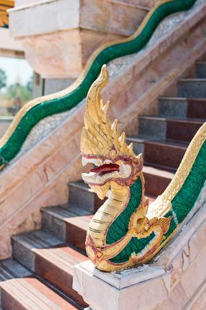 chalong: Dragons at Chalong Temple in Phuket Thailand