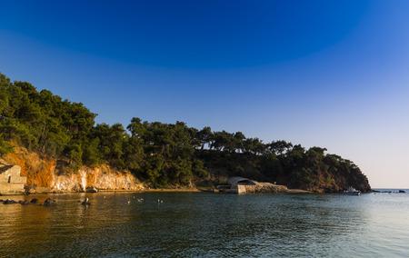 marmara: Prince Islands in marmara sea,Turkey.