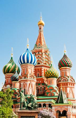 Il luogo più famoso di Mosca, Cattedrale di San Basilio, la Russia Archivio Fotografico