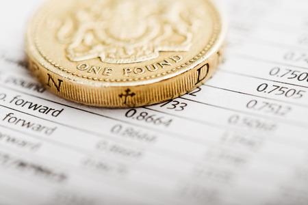 cuadro sinoptico: Una moneda de libra en un cuadro resumen
