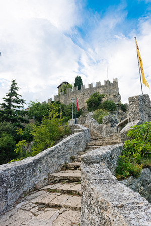 Castle in San Marino - Guaita or Rocca, the First Tower  photo