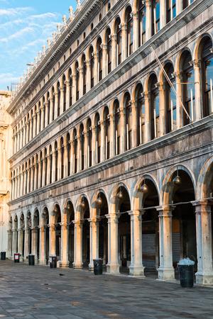 vechio: Procuratie Vechio in Venice in Italy