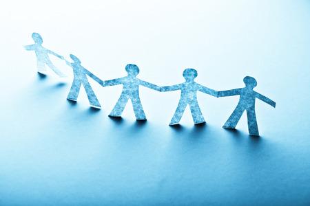 apoyo familiar: Documento de las personas en concepto de trabajo en equipo