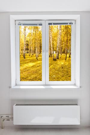 Autumn window  photo