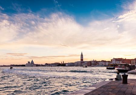 Sunset over Venice  photo