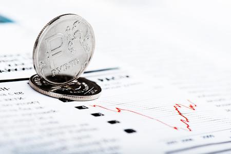 margins: Ruble exchange rate on international stock exchanges.