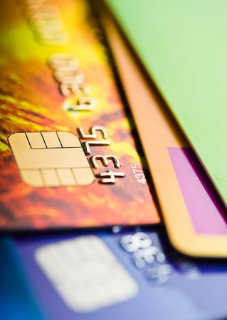 cash dispenser: Credit cards
