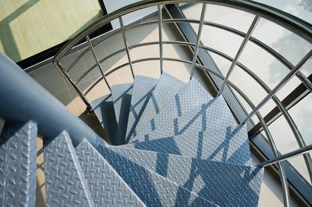 iron spiral stair