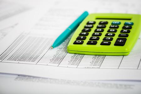 Financial accounting Standard-Bild