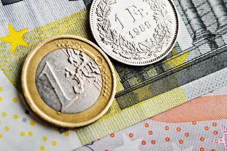 frank szwajcarski: Frank szwajcarski w stosunku do euro