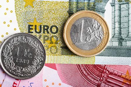 swiss franc: Swiss Franc versus Euro