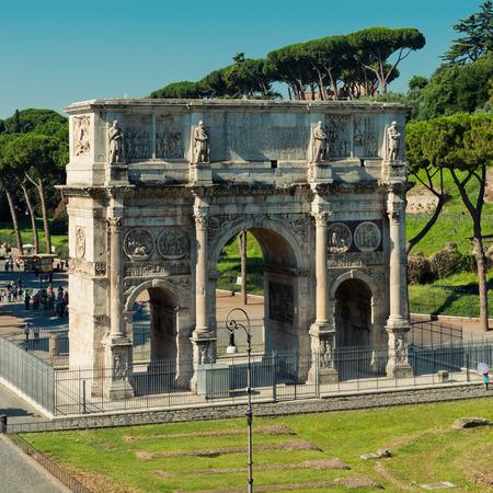 Roma: Arco di Costantino. (Constantins Arc) Roma (Rome) Italy