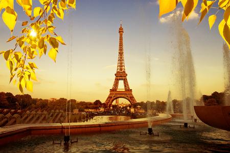 eiffel: Eiffel tower in Paris, France