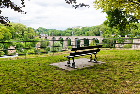 luxembourg: Bench in Luxembourg