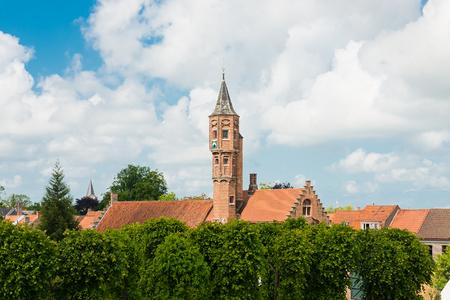 bruges: view of Bruges (Brugge), Belgium Stock Photo