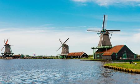 zaandam: Windmills of the Zaanse Schans (near Amsterdam)