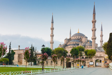 The Blue Mosque, (Sultanahmet Camii), Istanbul, Turkey Stock Photo