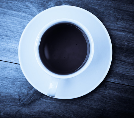 cup of tea, above, blue